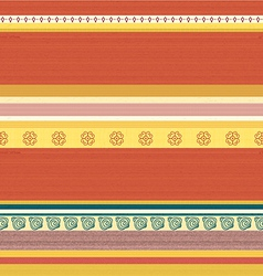 Striped coloured textile backround pattern vector