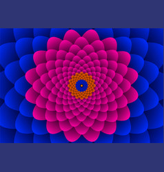 floral spirals vector image vector image