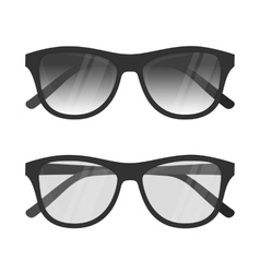 Sunglasses isolated vector image vector image