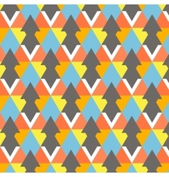 Modern colorful geometry pattern abstract vector