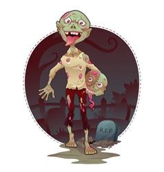 Zombie Bro vector image