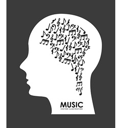 Music design vector