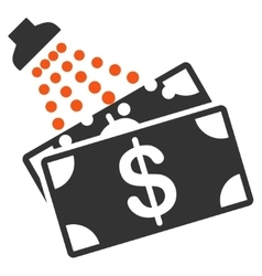 Money laundry icon from commerce set vector