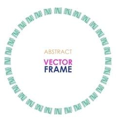 Ethnic frame vector