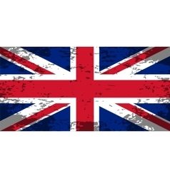 Abstract image of the flag Great Britain England vector image vector image