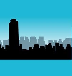 building mexico city vector image vector image