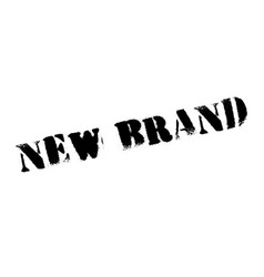 new brand rubber stamp vector image vector image