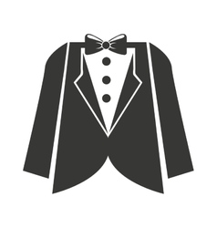 Menswear clothing isolated icon vector