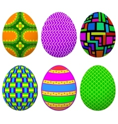 Set easter egg vector