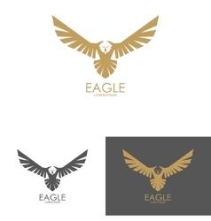 Eagle mark isolated on white background vector