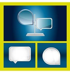 Web design elements vector image