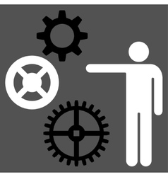 Project icon from commerce set vector