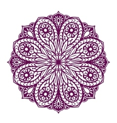 Mandala Ethnic decorative floral ornament vector image