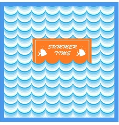 Summer Card Print vector image