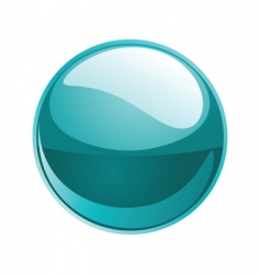 shiny sphere vector image