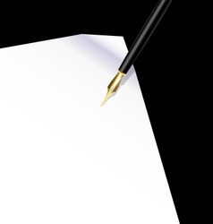 background writing vector image vector image