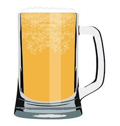 Beer mug vector image