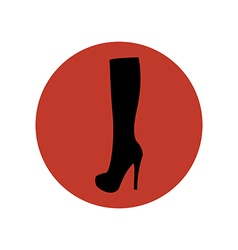 Boots shoes vector