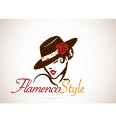 Flamenco concept vector