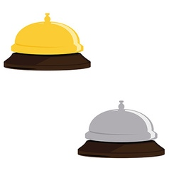Hotel bell icon vector