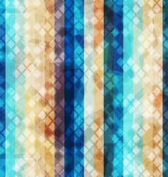 retro stripe seamless pattern vector image