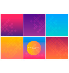 abstract geometric background in gradient tones vector image