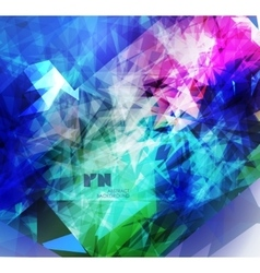 Abstract modern colorful background vector image