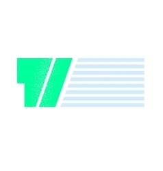 Flat quote sign vector image vector image