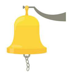 sea bell icon cartoon style vector image