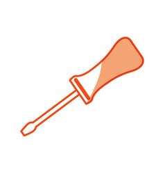 Screwdriver tool object vector