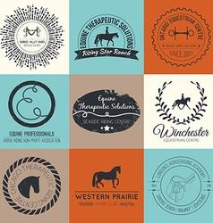 Equine Logo vector image