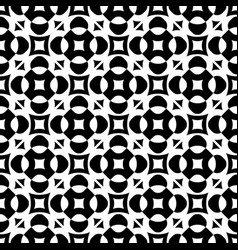 Seamless ornament pattern with rounded figures vector
