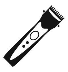 Clipper icon simple style vector