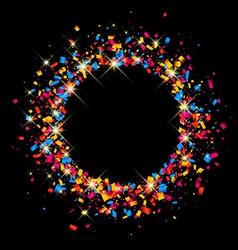 Black festive background vector