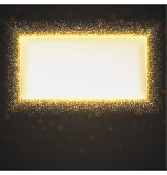 Glittering star dust background vector