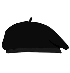 Painter hat vector image vector image