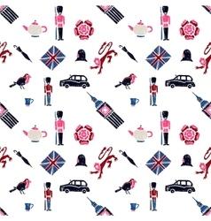 UK seamless pattern vector image vector image