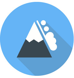 Snow avalanche vector