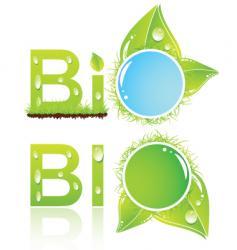 bio logo vector image