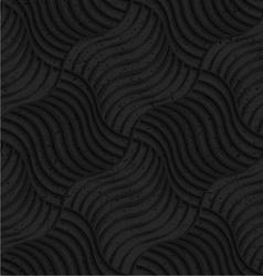 Textured black plastic striped pillows pin will vector