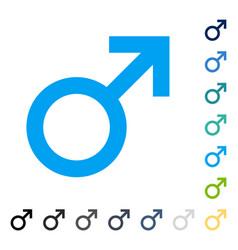 Male symbol icon vector