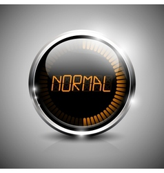 Normal symbol vector image