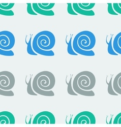 Snail pattern vector image