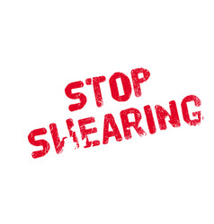 stop swearing rubber stamp vector image vector image