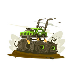 Suv monster truck vector