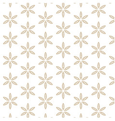 White background with abstract leaf pattern vector