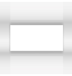 Abstract white screen vector