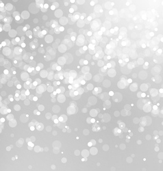 Abstract Lights on Grey Background vector image