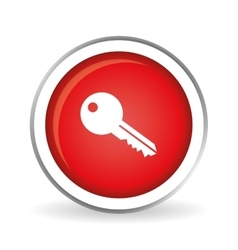 Key icon design vector