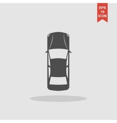 Car icon Flat design style vector image